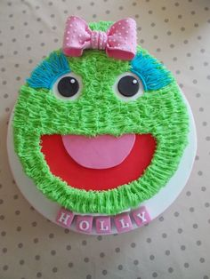 Little Monster By Scrumptious Cakes Minehead