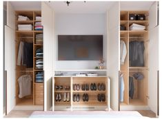 Built In Wardrobe Ideas Alcove, Bedroom Built In Wardrobe, Bedroom Built Ins, Bedroom Closet Design, Tv In Wardrobe, Wardrobes For Small Bedrooms, Fitted Wardrobe Interiors, Built In Wardrobe Designs, Wardrobe Images
