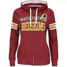 d9733297e Women s New England Patriots Majestic Navy Blue Pure Heritage VI Full Zip  Pullover Hoodie. Angie Belton · Washington Redskins!