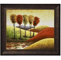 Hand-painted Oil Reproduction of Various Artists'  Endless Hills II.