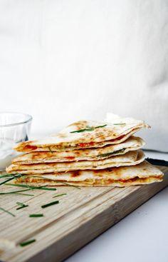 Quesadillas schnell und einfach zubereitet //Quesadillas easy to make by http://babyrockmyday.com/quesadillas/