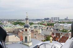 Riga, Tejados, Iglesia