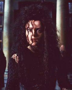 Helena Bonham Carter as Bellatrix Lestrange / Harry Potter Series Harry James Potter, Harry Potter Universal, Harry Potter Fandom, Harry Potter Characters, Harry Potter World, Harry Potter Icons, Slytherin, Hogwarts, Helena Bonham Carter