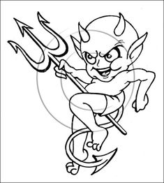 Baby devil tattoo sample - Tattoos Book - Tattoos Designs Tattoos And Body Art devil tattoo Angel Devil Tattoo, Demon Tattoo, Angel And Devil, Animals Drawing Images, Animal Drawings, Tribal Tattoos, Body Art Tattoos, Tatoos, Badass Drawings