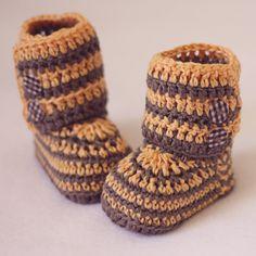 Ganchillo patucos  listos para usar botines bebé por crochetvalley