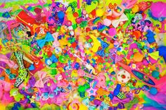 """Colorful Rebellion""(2011) by  Sebastian Masuda"