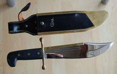 Vintage Large Case XX 1836 Etched Bowie Knife
