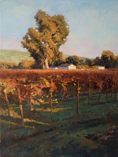 """Fall in Sonoma""  Oil    40"" X 30"""