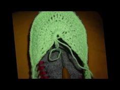 Тапочки домашние на войлочной подошве - YouTube