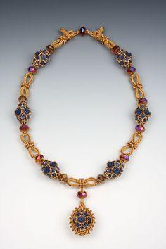 Jill Wiseman Designs - Pitaya Necklace Instructions Only, $25.00 (http://shop.jillwisemandesigns.com/pitaya-necklace-instructions-only/)