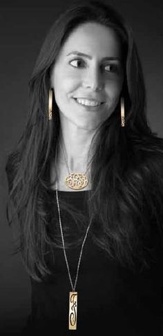 Single Initial Gold Monogram Layering Necklace - Jane Basch