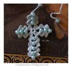 Crochet Prayer Beads Tutorial - Rosario de ganchillo, tutorial by BarbieSharinda