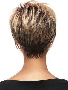 short hair cuts for women back view - Google Search @melissaaodell Short Haircuts 2014, Short Layered Haircuts, Cute Short Haircuts, Cute Hairstyles For Short Hair, Popular Haircuts, Short Cuts, Pink Hairstyles, Pictures Of Short Hairstyles, Short Women's Haircuts