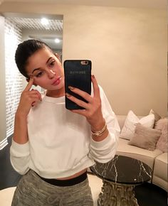 Bare-Faced Celebs: The Best No-Makeup Selfies on Instagram - Kylie Jenner from InStyle.com