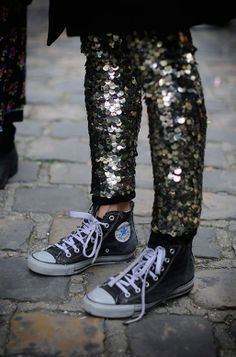 ....Glitter and sneakers...YES www.ana-anna.com
