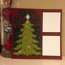 Christmas Tree Scrapbook Layout Stampin Up Paper 12x12
