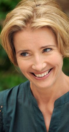 Emma Thompson. We may not agree on all subjects, but she is a model of poise, intelligence, wit, and thoughtfulness.