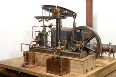 Stuart beam engine, Dampfmaschine, model steam engine