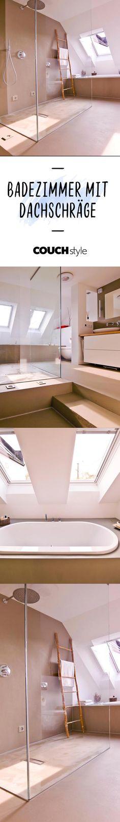 Badezimmer Mit Dachschräge? Auf COUCHstyle Findest Du Viele Ideen, Dein Bad  Geschickt Einzurichten!