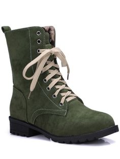 SHARE & Get it FREE | Lace-Up Solid Colour Combat BootsFor Fashion Lovers only:80,000+ Items • New Arrivals Daily Join Zaful: Get YOUR $50 NOW!