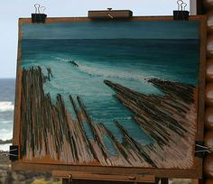 Pastel Painting Step-by-Step Seascape Demonstration: Final Touches
