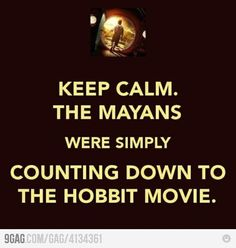 Haha awesome The Hobbit