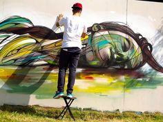 street art by hopare | Urban Hacking – Le Street Art par HOPARE | Ufunk.net