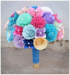 Ramo de Novia CLASS-06 Varios colores #ramodenovia  #bridalbouquet #matrimonio