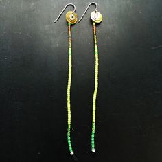 Trail Earrings Leaf now featured on Fab.