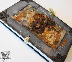 France Papillon for Pan Pastel BNL: Nieuw jaar, nieuwe art journal