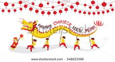 Image result for chinese dragon parade drawing