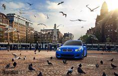 Matte Blue BMW E60 M5