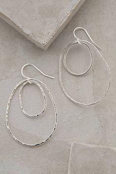 Orbited Hoops by Kris Nations, silver Unique Jewelry, Jewelry Box, Jewelery, Jewelry Accessories, Handmade Jewelry, Jewelry Design, Women Jewelry, Fashion Jewelry, Jewelry Making