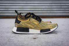 "adidas Originals NMD_R1 Primeknit ""Yellow Gold"""