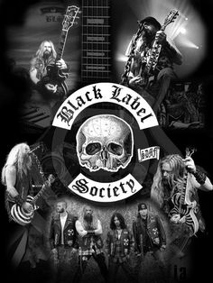 Black Label Society - my favorite poster ever!!!