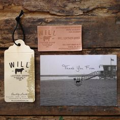Will Leather Goods identity design