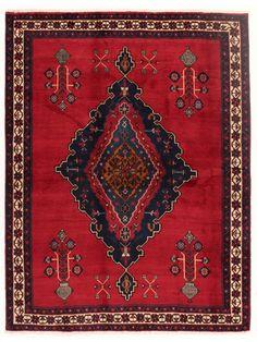 Tapis persans - Afshar  Dimensions:218x168cm
