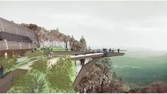 A proposed glass skywalk with a sheer drop of over the Blyde River Canyon on the Panorama route near Nabana Lodge awaits the go-ahead from treasury Glass Walkway, Construction News, Tourism, Windows, River, Turismo, Window, Rivers, Ramen