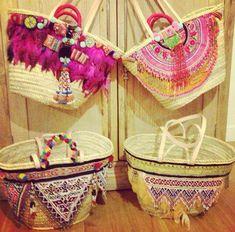 Cestos Diy Straw, Straw Bag, Ibiza, Ethnic Bag, Unique Purses, Jute Bags, Boho Bags, Basket Bag, Summer Bags