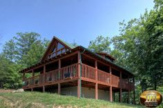 Somewhere In Time 2 Bedroom Vacation Cabin Rental in Pigeon Forge, TN Smokey Mountain Cabins, Mountain View, Wears Valley Cabin Rentals, Vacation Cabin Rentals, Pigeon Forge Tennessee, Somewhere In Time, Smoky Mountain National Park, Porch Swing, National Parks