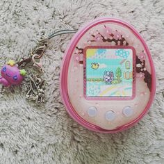 This Faceplate is so lovely !!  #tamagotchi4uplus #tamagotchi4u #tmgc #tamagotchi #bandai #sakurabloom