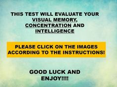 Does your visual memory fit this elite percentage? Find out now! I got a perfect score