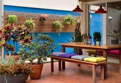 Casa - Decoração - Reciclados: Área Externa - Lindas Sugestões!