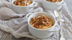 The super-easy seasonal dessert recipe you'll keep going back to — mini no-bake pumpkin cheesecakes