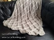 Salerno Chunky Knit Blanket Pattern