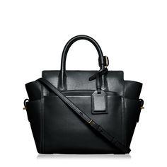 Shop Mini Atlantique Handbag in Bo/Black | Reed Krakoff