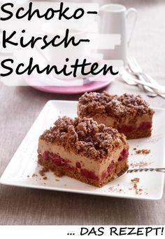 Unsere neueste Entdeckung auf der Kuchentafel: ein himmlischer Schoko-Kirsch-Kuchen vom Blech. Schoko-Schoko-Kirsch - unser liebstes Torten-Trio. Hier geht's ZUM REZEPT >>>