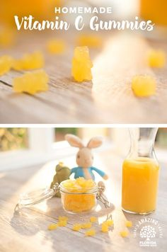 Make kid-approved Vitamin C Gummies with your little ones using this fun recipe from Florida OJ!