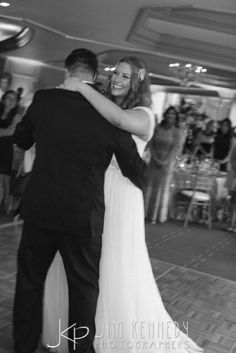 First dance for the happy couple! Jim Kennedy Photographers - Jessica & Alex's Wedding at the Center Club Orange County.