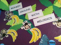 Music Safari Intervals Monkeys and Bananas 2014-2015